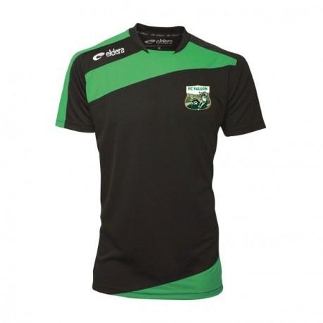 Tee Shirt PRESTIGE Noir/Vert+ Logo Club