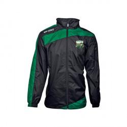 Coupe-Vent PRESTIGE Noir/Vert + Logo Club