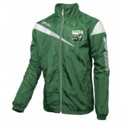 Coupe-Vent VICTOIRE Vert/Blanc + Logo Club